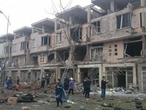 Tin tức trong ngày - Clip: Hiện trường vụ nổ kinh hoàng ở KĐT Văn Phú