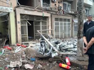 Tin tức trong ngày - Hiện trường tan hoang sau vụ nổ khủng khiếp ở Văn Phú-Hà Đông