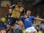 Bóng đá - Everton - Arsenal: Đi qua bóng tối