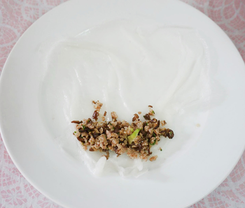 Cách làm bánh cuốn bằng chảo cực dễ - 7