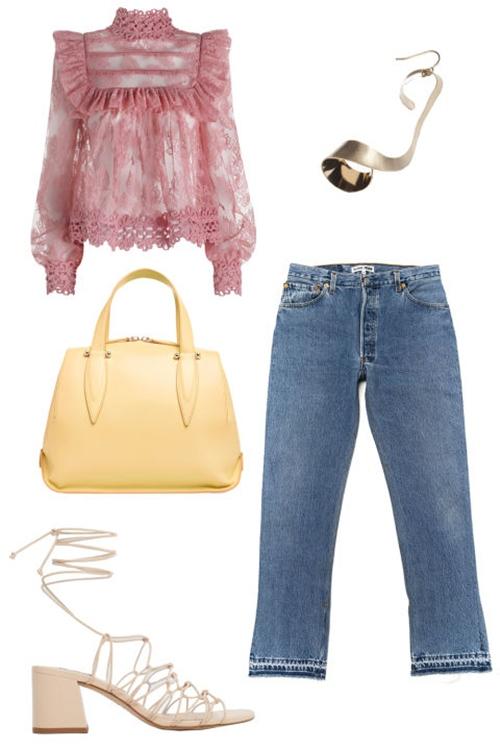5 cách mặc để màu hồng không còn làm khó bạn - 3