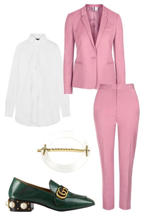 5 cách mặc để màu hồng không còn làm khó bạn - 5
