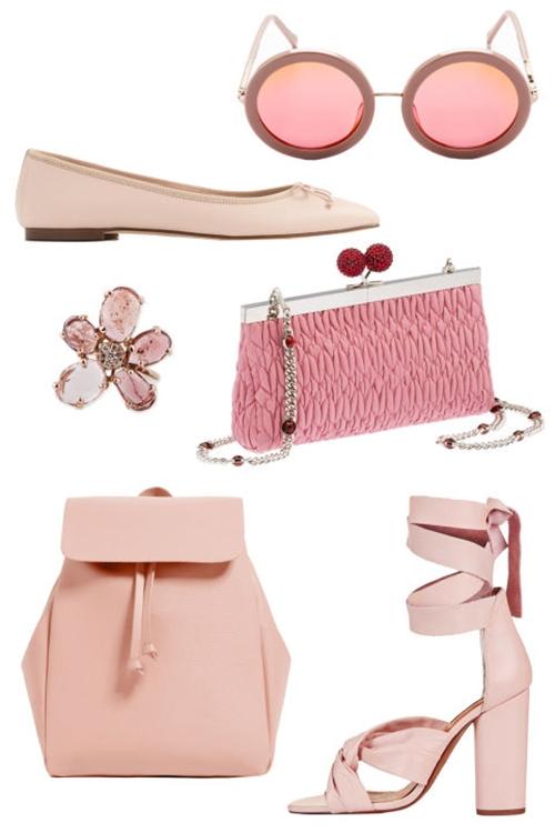 5 cách mặc để màu hồng không còn làm khó bạn - 6