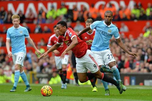 Man City vs MU - 1
