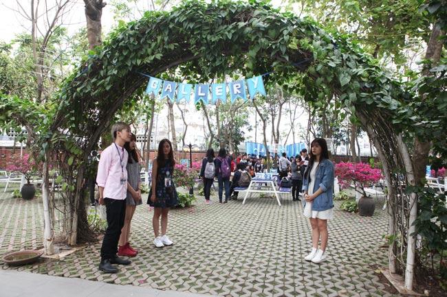 """Teen Hà thành rạng rỡ """"check in"""" tại """"vườn địa đàng"""" - 2"""