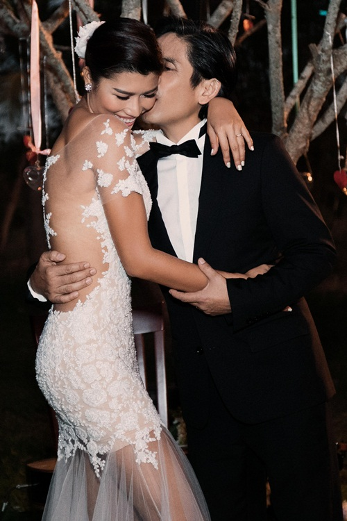 Cận cảnh đám cưới xa hoa của Trang Lạ và chồng Việt kiều - 8
