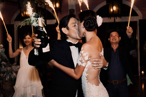 Cận cảnh đám cưới xa hoa của Trang Lạ và chồng Việt kiều - 10