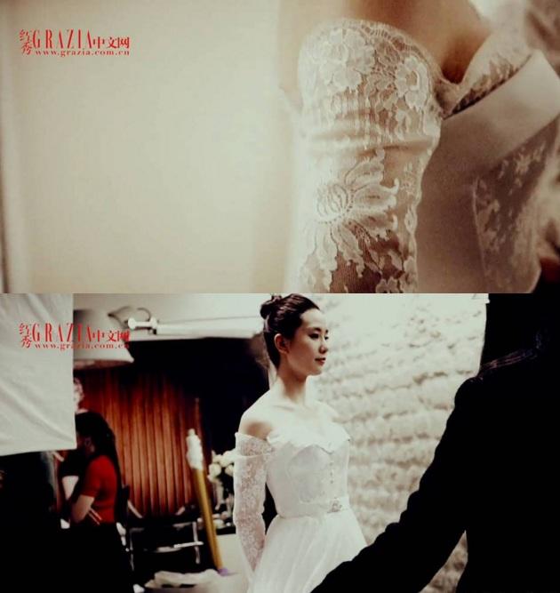 Những hình ảnh đầu tiên tại lễ cưới Lưu Thi Thi - 9