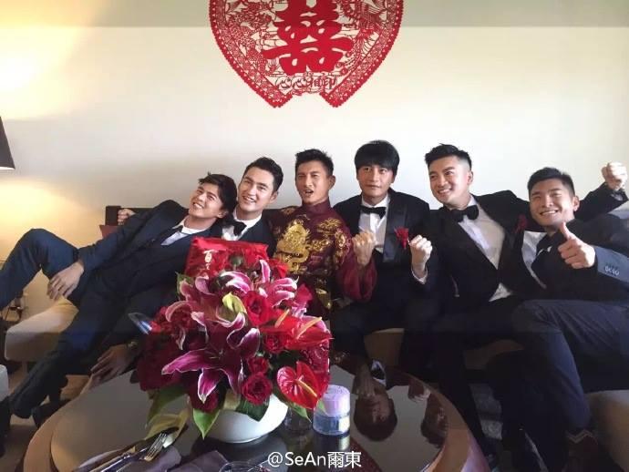 Những hình ảnh đầu tiên tại lễ cưới Lưu Thi Thi - 5