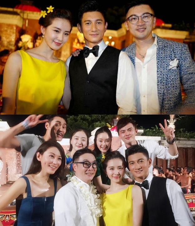 Những hình ảnh đầu tiên tại lễ cưới Lưu Thi Thi - 2