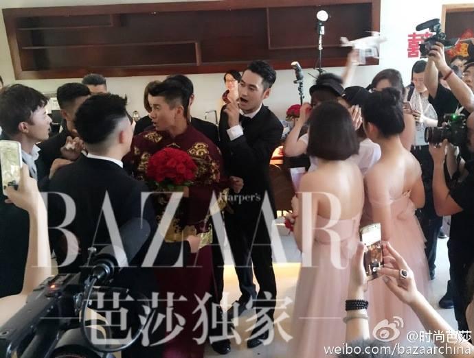 Những hình ảnh đầu tiên tại lễ cưới Lưu Thi Thi - 8