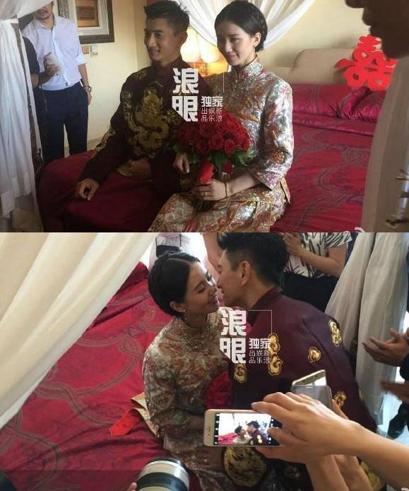 Những hình ảnh đầu tiên tại lễ cưới Lưu Thi Thi - 4
