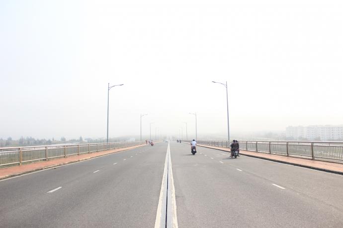 Đà Nẵng bỗng dưng chìm trong sương mù - 1