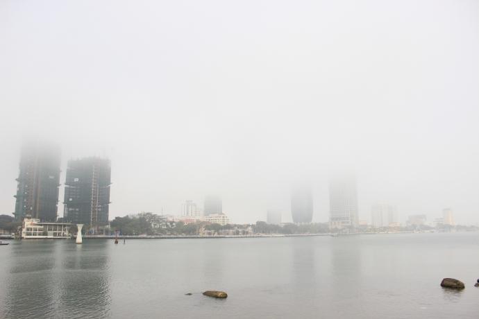 Đà Nẵng bỗng dưng chìm trong sương mù - 8