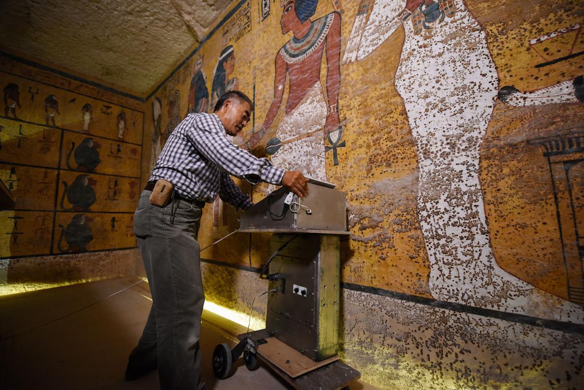Căn phòng bí ẩn trong hầm mộ Hoàng đế Ai Cập - 2