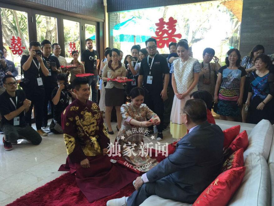 Những hình ảnh đầu tiên tại lễ cưới Lưu Thi Thi - 11