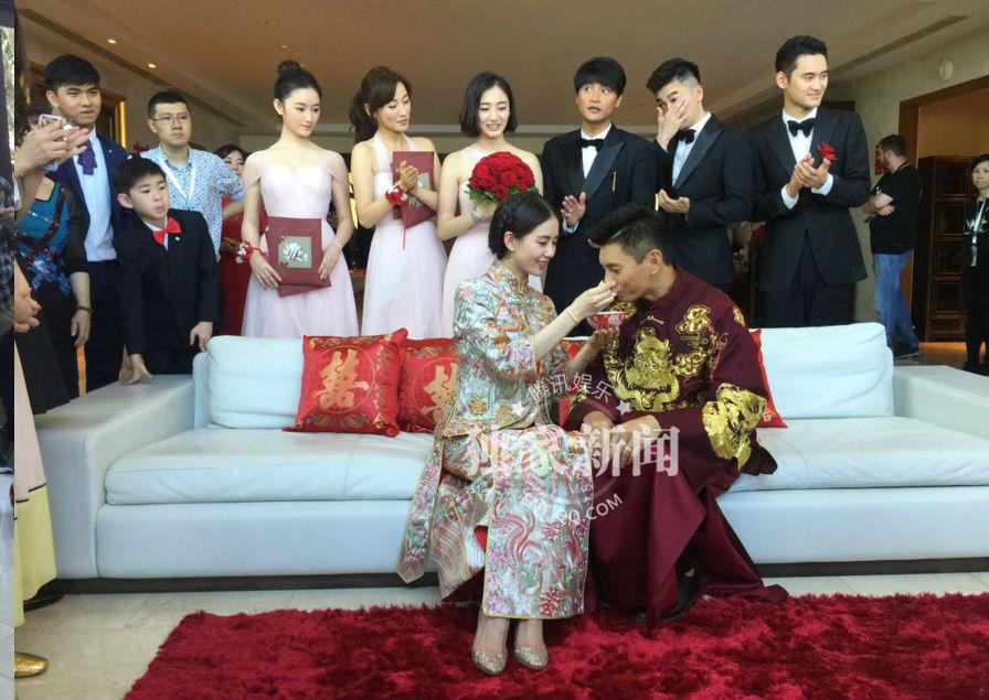 Những hình ảnh đầu tiên tại lễ cưới Lưu Thi Thi - 12