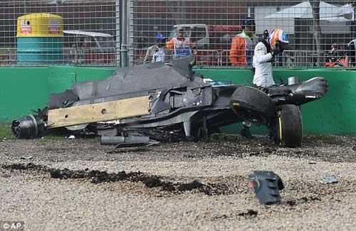 F1, Australian GP: Kinh hãi tai nạn Alonso - 2