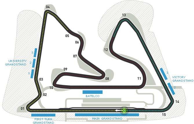 Lịch thi đấu F1: Bahrain GP 2016 - 1