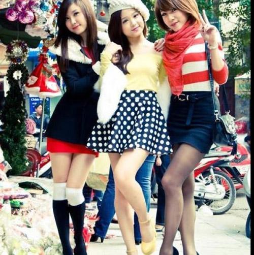 Vẻ sexy của bộ ba hot girl đình đám Hà thành một thời - 1