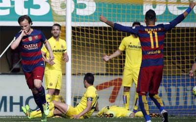 Chi tiết Villarreal - Barca: 1 điểm xứng đáng (KT) - 3