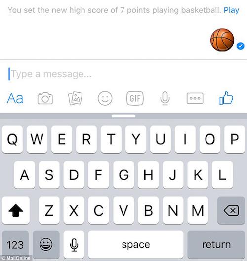 Chơi bóng rổ ngay trên cửa sổ chat Facebook Messenger - 1