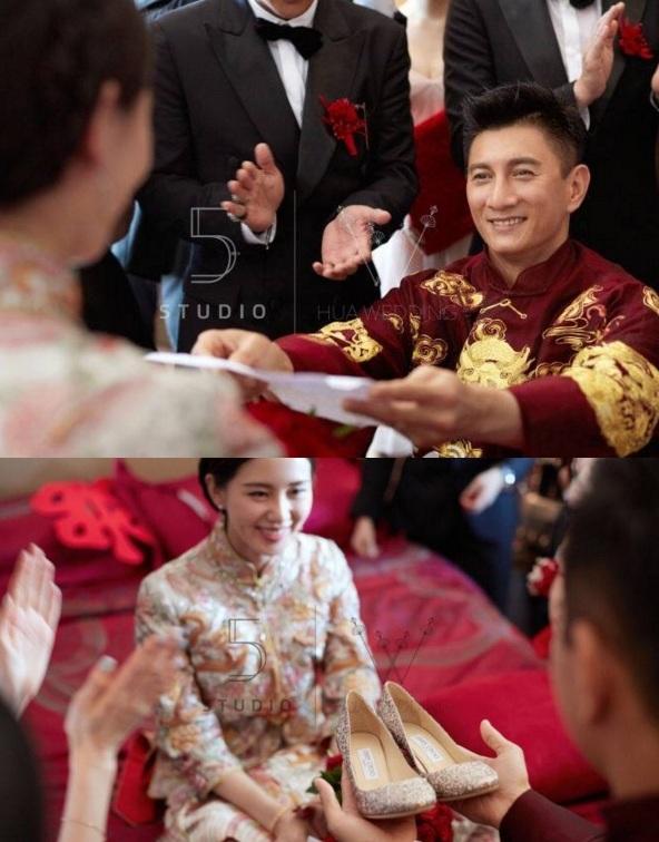 Những hình ảnh đẹp nhất trong đám cưới Lưu Thi Thi - 7