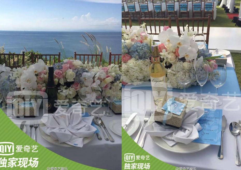 Những hình ảnh đẹp nhất trong đám cưới Lưu Thi Thi - 12
