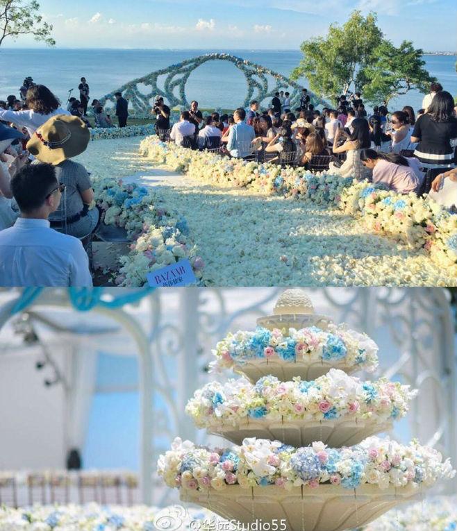 Những hình ảnh đẹp nhất trong đám cưới Lưu Thi Thi - 10