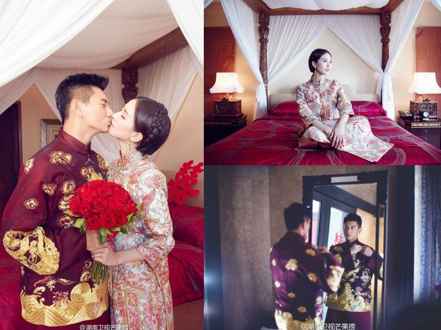 Những hình ảnh đẹp nhất trong đám cưới Lưu Thi Thi - 3