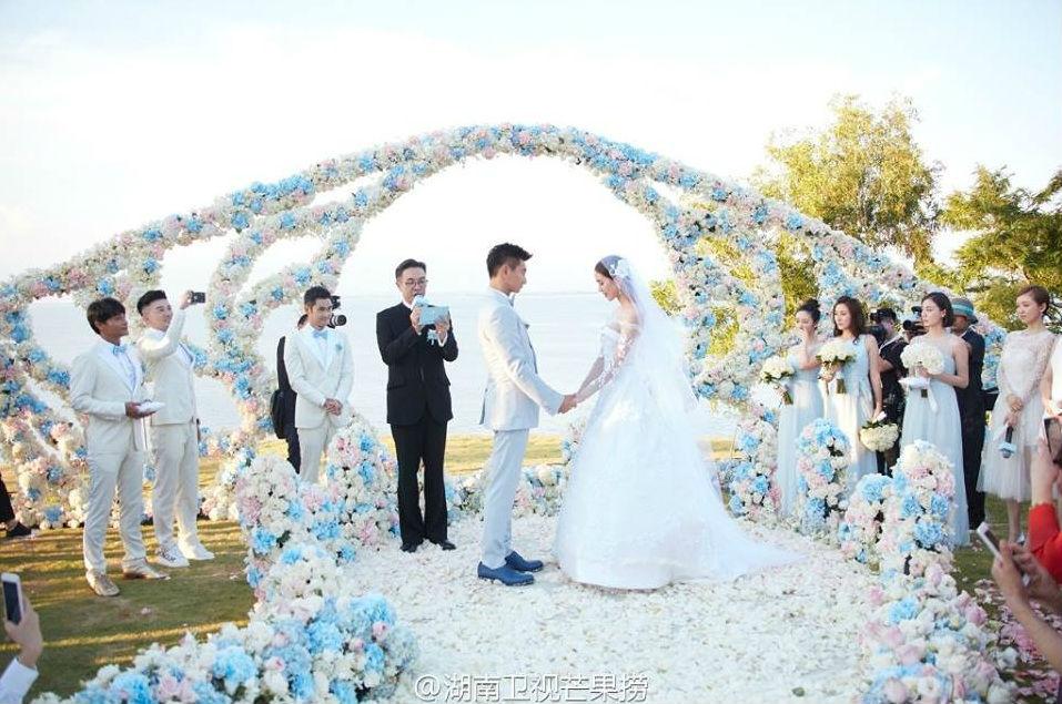 Những hình ảnh đẹp nhất trong đám cưới Lưu Thi Thi - 11
