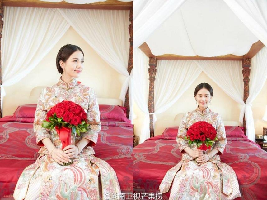 Những hình ảnh đẹp nhất trong đám cưới Lưu Thi Thi - 1