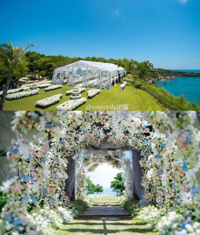 Những hình ảnh đẹp nhất trong đám cưới Lưu Thi Thi - 9