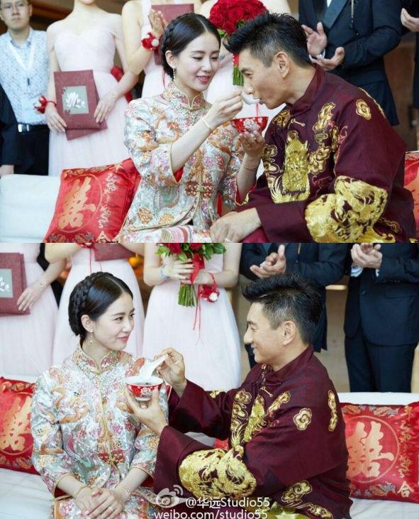 Những hình ảnh đẹp nhất trong đám cưới Lưu Thi Thi - 8
