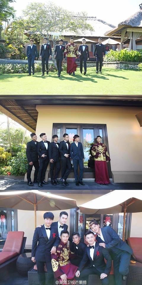 Những hình ảnh đẹp nhất trong đám cưới Lưu Thi Thi - 6