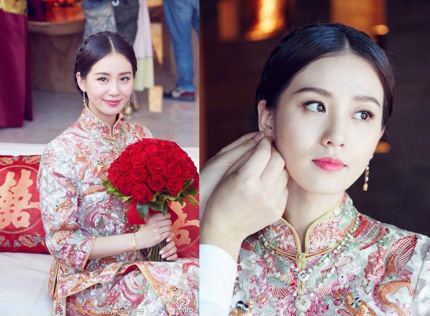 Những hình ảnh đẹp nhất trong đám cưới Lưu Thi Thi - 2