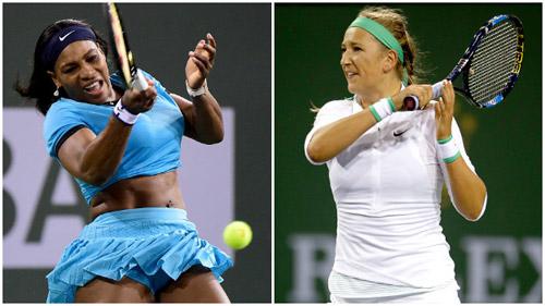Serena - Azarenka: Choáng váng làng banh nỉ (CK nữ Indian Wells) - 1