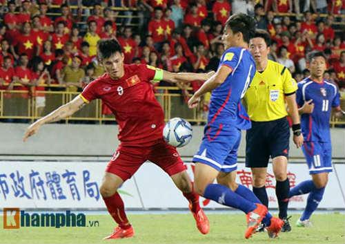 Đội Đài Loan muốn giành 3 điểm tại Mỹ Đình - 1