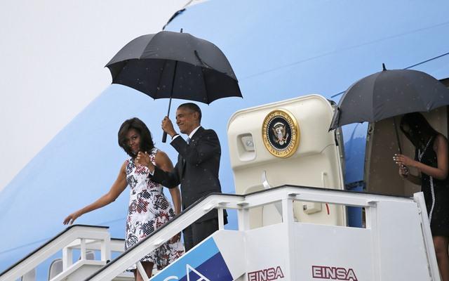 Chùm ảnh: Obama trong chuyến thăm lịch sử tới Cuba - 1