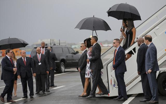 Chùm ảnh: Obama trong chuyến thăm lịch sử tới Cuba - 3