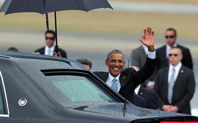 Chùm ảnh: Obama trong chuyến thăm lịch sử tới Cuba - 4