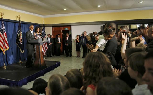 Chùm ảnh: Obama trong chuyến thăm lịch sử tới Cuba - 5