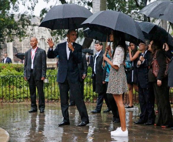 Chùm ảnh: Obama trong chuyến thăm lịch sử tới Cuba - 6