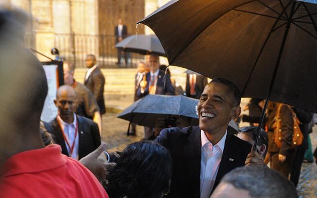 Chùm ảnh: Obama trong chuyến thăm lịch sử tới Cuba - 12