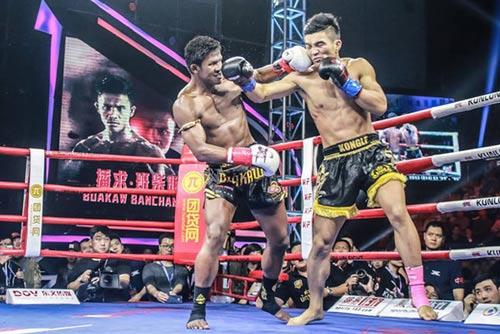 """""""Hoàng tử Muay Thái"""" đả bại SAO võ thuật Trung Quốc - 1"""
