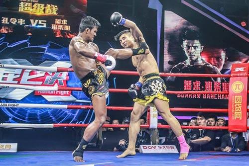 """""""Hoàng tử Muay Thái"""" đả bại SAO võ thuật Trung Quốc - 2"""
