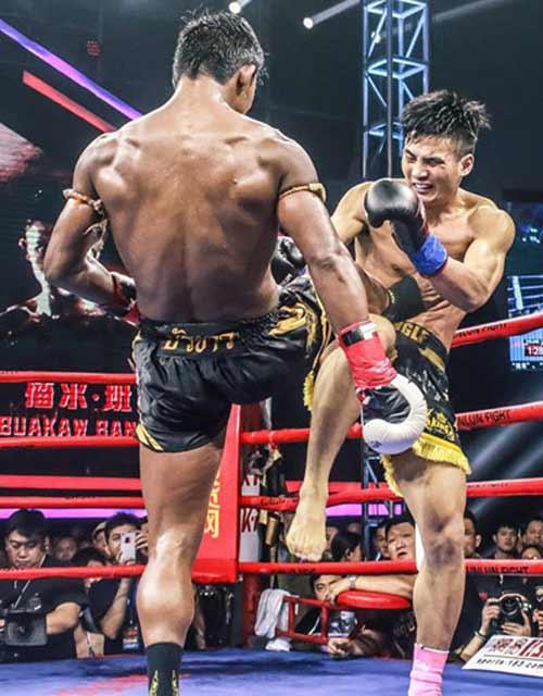 """""""Hoàng tử Muay Thái"""" đả bại SAO võ thuật Trung Quốc - 7"""