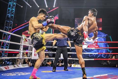"""""""Hoàng tử Muay Thái"""" đả bại SAO võ thuật Trung Quốc - 8"""