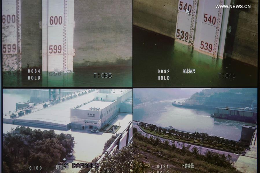 Ảnh: Đập thủy điện TQ xả nước xuống phía Việt Nam - 5