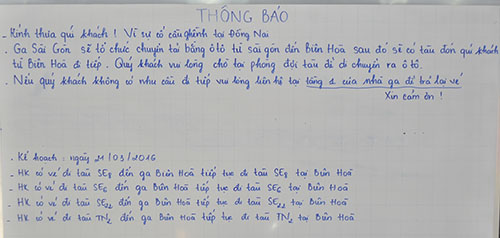 Cầu Ghềnh sập, hành khách lũ lượt trả vé ở ga Sài Gòn - 2